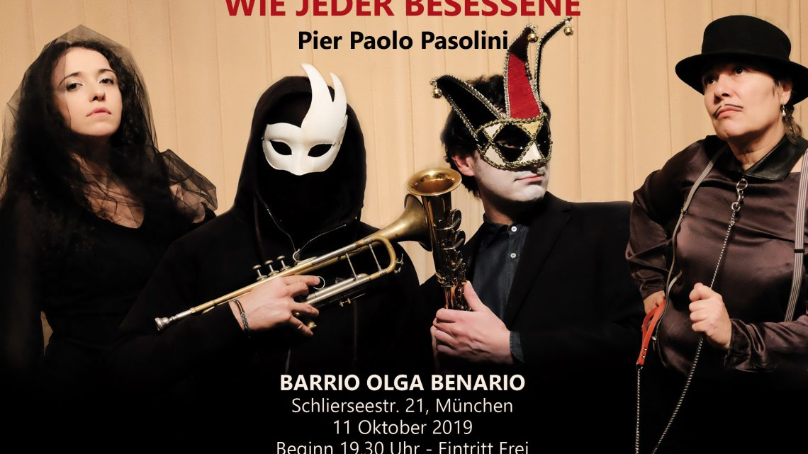 """Pier Paolo Pasolini """"Ich lebte lyrisch, wie jeder Besessene"""""""
