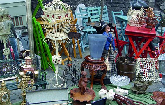 Hinterhofflohmarkt Barrio Olga Benario